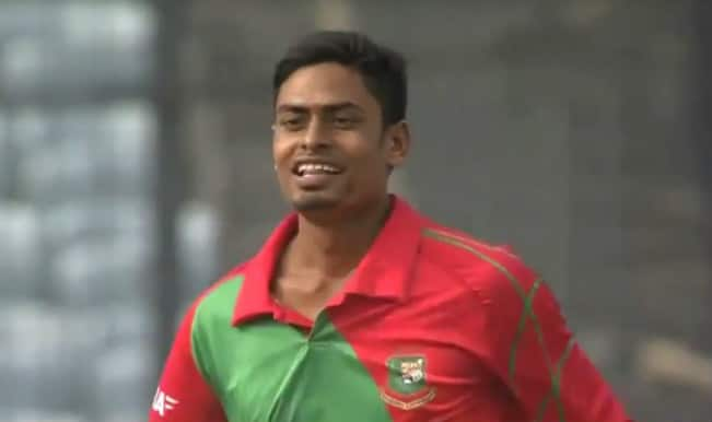 Taijul Islam 1st bowler to claim Hat trick in debut ODI Watch Video