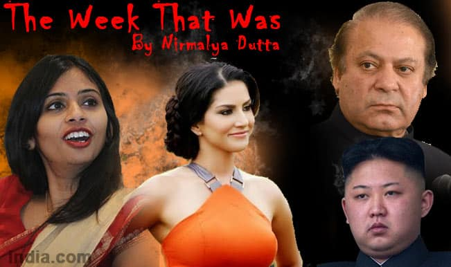 The Week That Was: Pakistan and terrorism, North Korea and Hollywood, and Sunny Leone again!