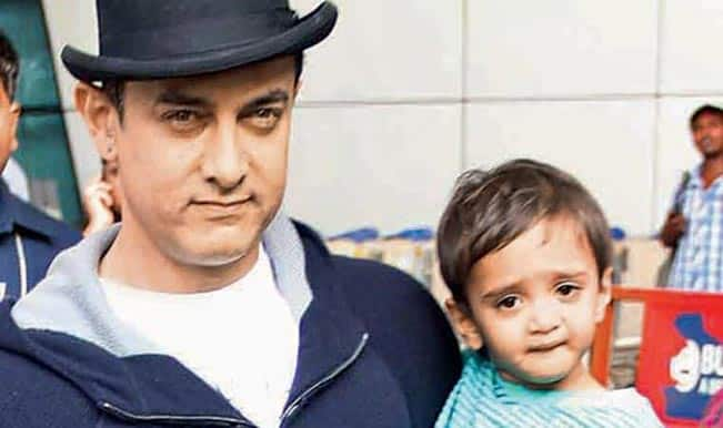 Aamir Khan's three-year-old son Azad reacts to PK!