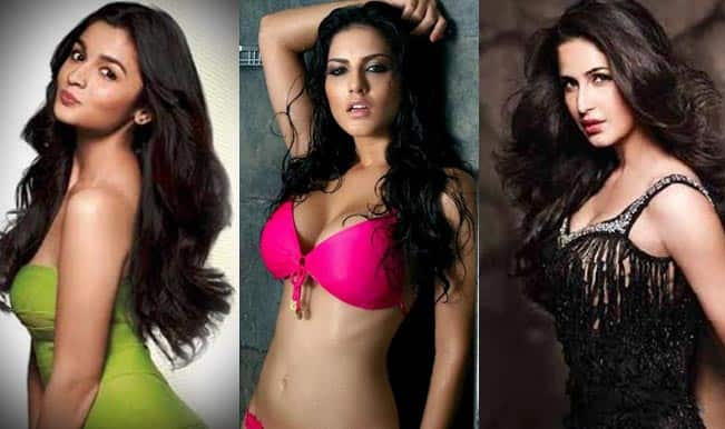 Top 10 Hottest Kisses Of 2014 Sunny Leone Alia Bhatt Or Katrina Kaif