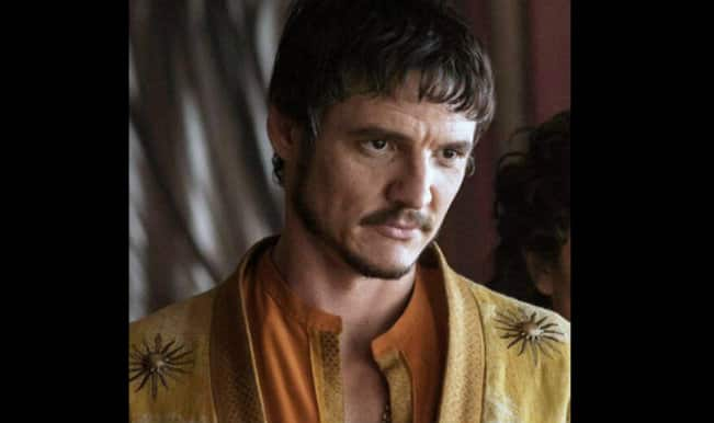 Game of Thrones star Pedro Pascal in Great Wall