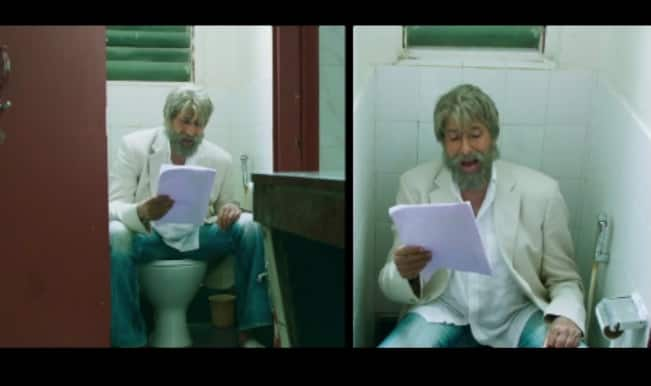 Shamitabh song Piddly: It is time to take a Piddly Break says Amitabh Bachchan!