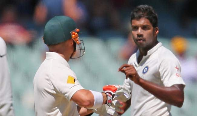 David Warner, Varun Aaron in war of words as vintage India-Australia cricketing rivalry reignites