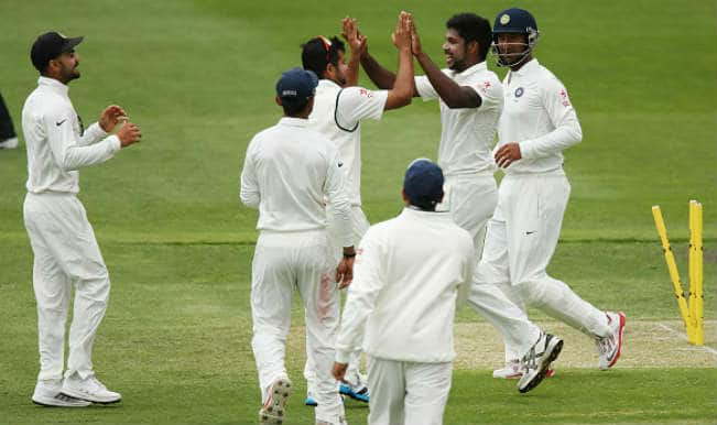 Varun Aaron, Karn Sharma among wickets as India restrict Cricket Australia XI for 243 in two-day tour match