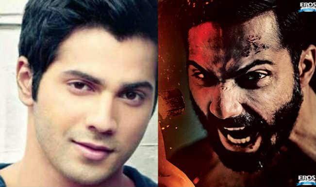Fotos - Badlapur Movie Wallpapers Pics Varun Dhawan Full On Aggression