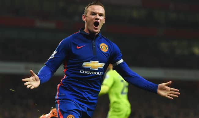 Manchester United manager Louis van Gaal downplays Wayne Rooney's injury after team's 2-1 win against Stoke City