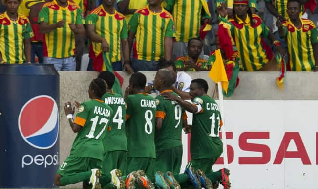 Zambia shifts base to South Africa to prepare for African Cup of Nations