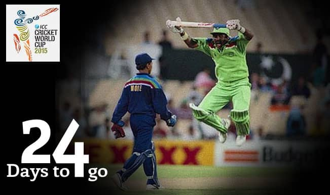 ICC Cricket World Cup 2015 Countdown Day 24: Javed Miandad's 1992 World Cup antics heated India-Pakistan rivalry