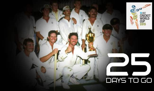 ICC Cricket World Cup 2015 Countdown Day 25: Australia became World Champions for first time
