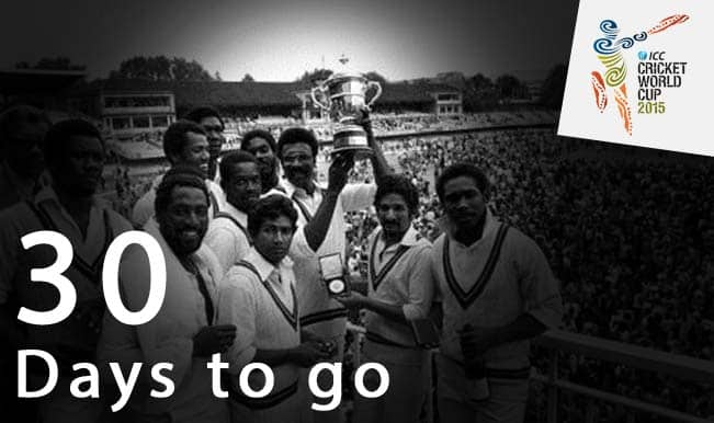 ICC Cricket World Cup 2015 Countdown Day 30: Clive Lloyd's 102 vs Australia in 1975 World Cup Final