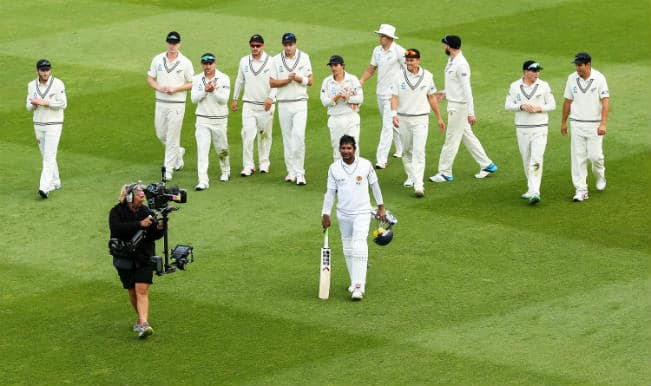 New Zealand vs Sri Lanka 2nd Test: 15 wickets tumble on Day 1 as Kumar Sangakkara goes past 12k run-mark