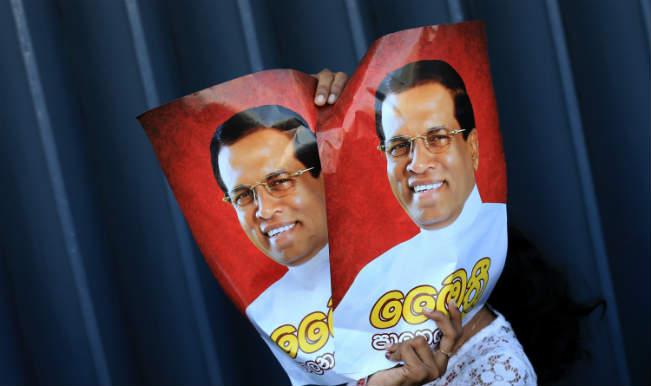 Maithripala Sirisena to be sworn-in as Sri Lanka's new President today