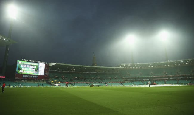 India vs Australia 5th ODI of Carlton MID tri-series called off due to rain; Teams share points