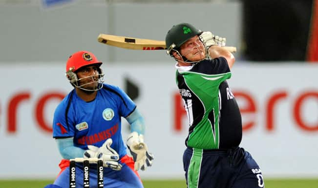 Ireland Vs Afghanistan Hd: Afghanistan And Ireland's Hopes Of Qualifying For ICC