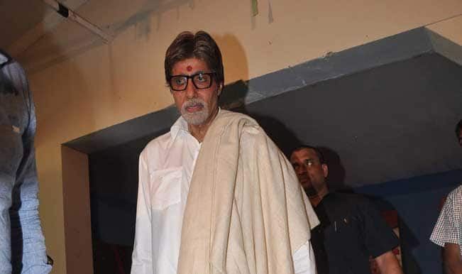 Amitabh Bachchan observes father's 12th death anniversary