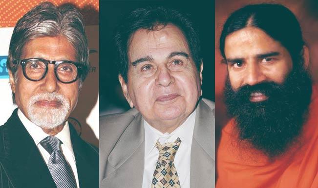 दिलीप कुमार, अमिताभ बच्चन, आडवाणी, बाबा रामदेव समेत कई हस्तियों को मिलेगा पद्म सम्मान