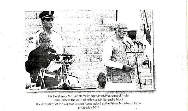 BCCI accused of misappropriating President, Prime Minister's photos