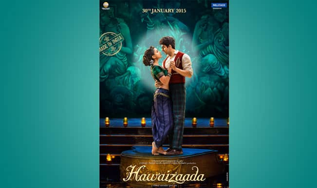 Hawaizaada new poster: Ayushmann Khurrana and Pallavi look cute together!