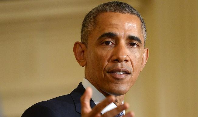 Narendra Modi promises predictable tax regime; Barack Obama raises IPR issues