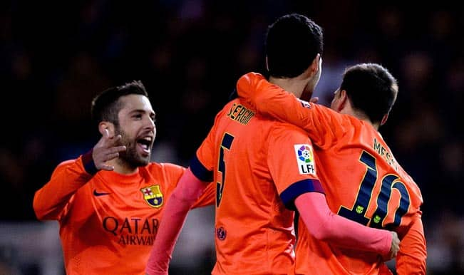 Barcelona vs Atletico Madrid, Live Streaming and Score: Watch Live Telecast Online of Copa del Rey 2014-15 quarterfinal first leg football match