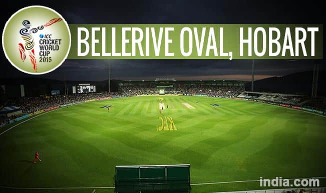 ICC Cricket World Cup 2015 Schedule at Bellerive Oval, Hobart: Get Timetable and Ticket details of CWC 15 matches