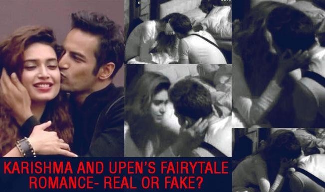 Bigg Boss Halla Bol: Upen Patel and Karishma Tanna's fairytale romance- Reel or Real?