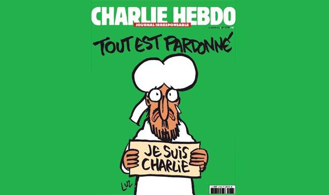 Charlie Hebdo retaliates depicting Prophet Muhammad saying 'Je suis Charlie' in latest edition
