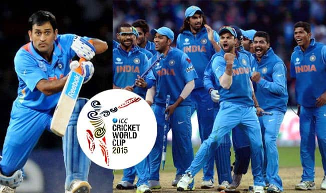 Team India for ICC Cricket World Cup 2015: List of 15 players most ...
