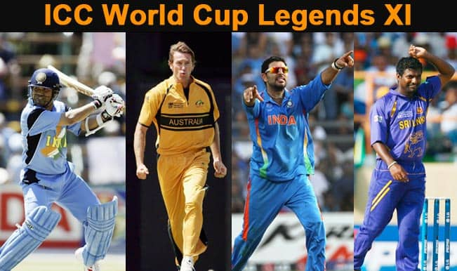 ICC Cricket World Cup 2015 Countdown: Sachin Tendulkar, Yuvraj Singh in World Cup All-Time XI