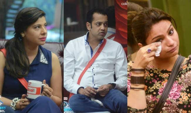 Bigg Boss Halla Bol: Cry baby Dimpy Mahajan messes again with the queen of harsh words Sambhavna Seth
