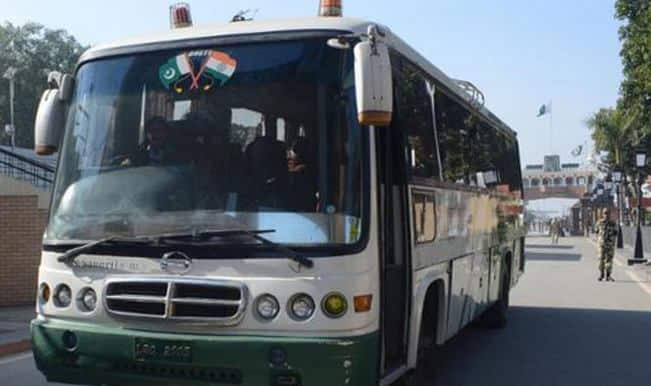 Terror threat: Pakistan-India Dosti bus service restricted to Wagah border
