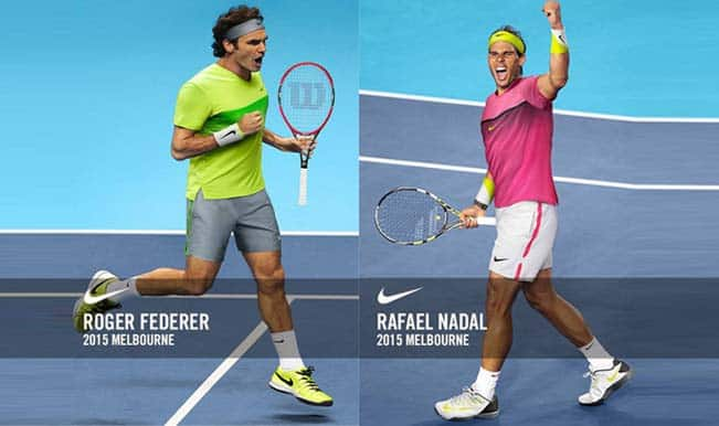 Roger Federer in Lime vs Rafael Nadal in Pink: Who gets a thumbs-up in Australian Open 2015?