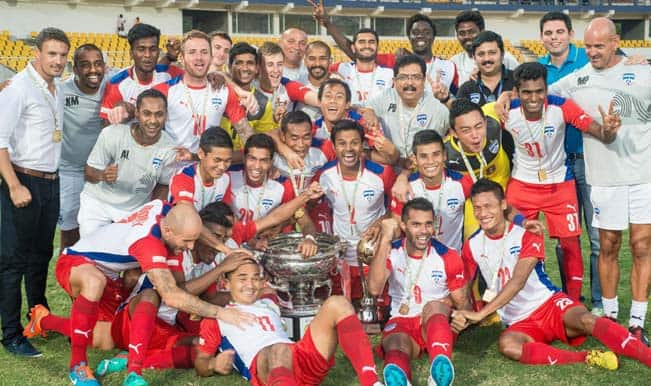 Federation Cup 2014-15: Bengaluru FC lift maiden title with 2-1 win over Dempo SC