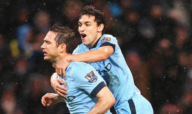 Barclays Premier League 2014-15: Frank Lampard header gives Manchester City 3-2 win over Sunderland