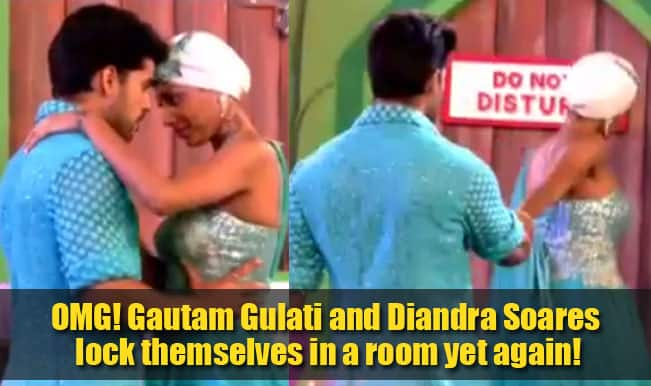 Bigg Boss 8 Finale: OMG! Gautam Gulati and Diandra Soares lock themselves in a room yet again!