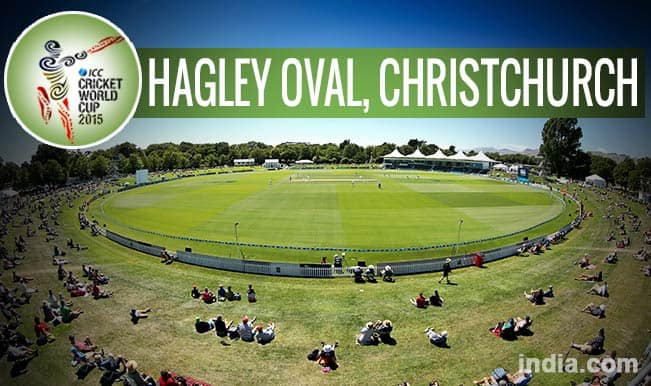 ICC Cricket World Cup 2015 Schedule at Hagley Oval, Christchurch: Get Timetable and Ticket details of CWC 15 matches