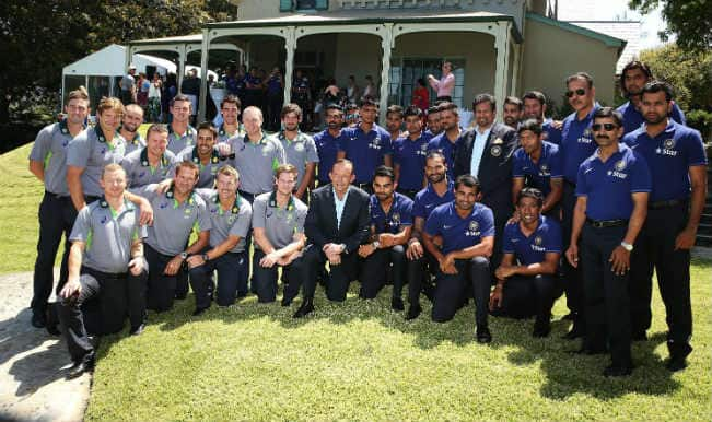 India, Australia cricket sides invited for for New Year's Afternoon Tea by Prime Minister Tony Abbott