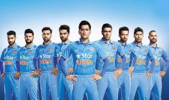 Team India gets new jersey ahead of ICC Cricket World Cup 2015 by BCCI and NIKE
