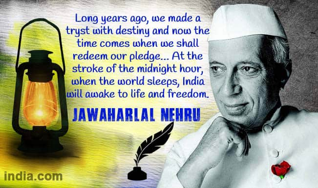 Jawaharlal nehru tryst with destiny rubber tyres gt smooth rides