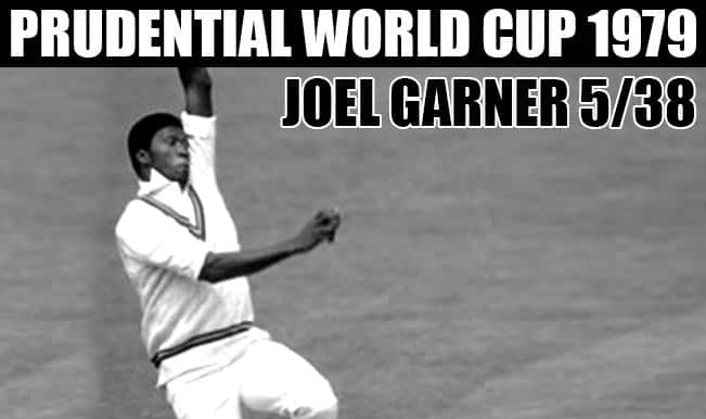 Prudential Cricket World Cup 1979: Joe Garner & top 4 bowling performances of 1979 World Cup