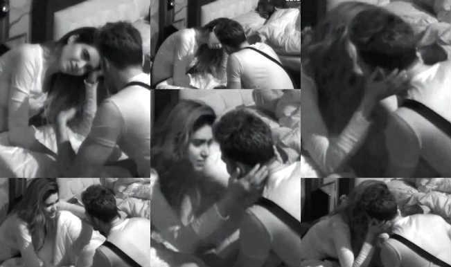 बिग बॉस हल्ला बोल : उपेन पटेल को लिप टू लिप किस करने की वजह से करिश्मा तन्ना के बॉयफ्रेंड ने किया ब्रेक अप