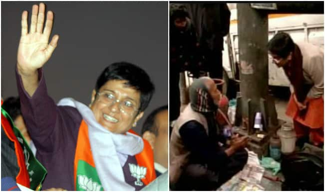 Kiran Bedi tours her constituency, promises to resolve public issues