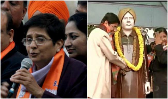 Kiran Bedi pays tribute to Lala Lajpat Rai in Krishna Nagar