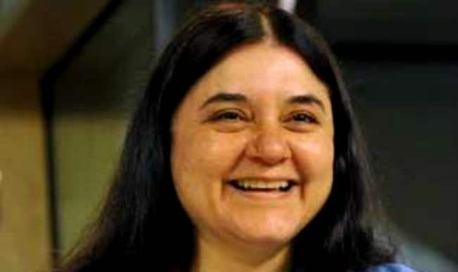 Maneka Gandhi launches One Stop Centre for women in Chattisgarh