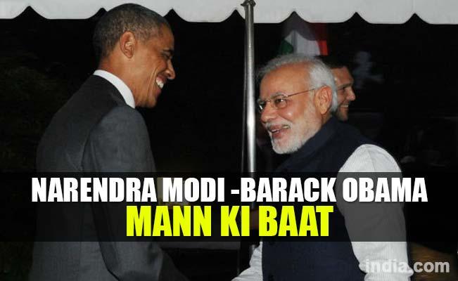 Narendra Modi & Barack Obama on Mann Ki Baat special edition: Watch full video from All India Radio
