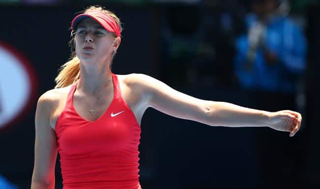 Australian Open 2015: Maria Sharapova registers easy win; sets quarterfinal date with Eugenie Bouchard