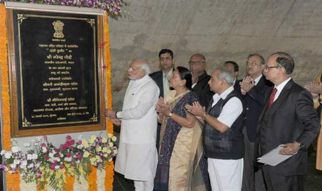 Pravasi Bharatiya Divas 2015: Narendra Modi dedicates Salt Mountain memorial to Mahatma Gandhi
