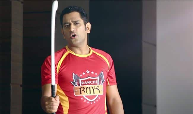 HIL 2015: Watch MS Dhoni's one-minute clip promoting his Hockey team Ranchi Rays