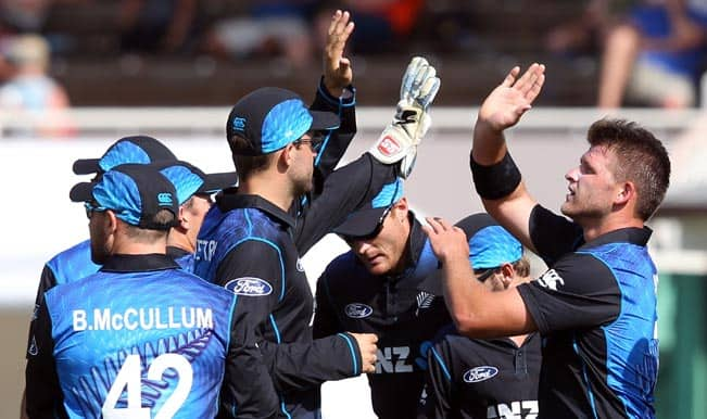 New Zealand vs Sri Lanka 2015: Kiwis seal series with 120-run victory in 6th ODI
