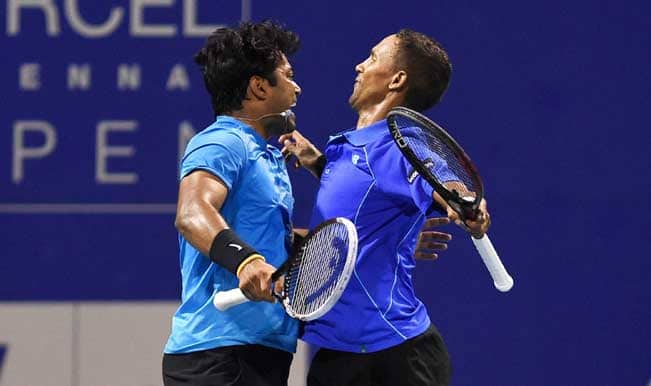 Chennai Open 2015: Leander Paes-Raven Klaasen progress to Men's Doubles final